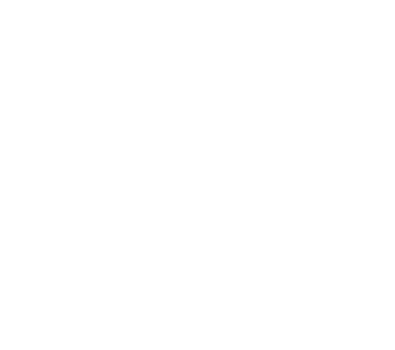 800 SW Adams Adams & Oak Warehouse District text with a black and white 2 point perspective view of the building completes this white logo